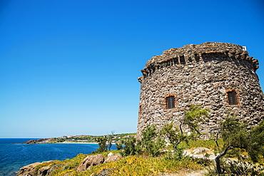 Tower In Portoscuso, Carbonia Iglesias, Sardinia, Italy