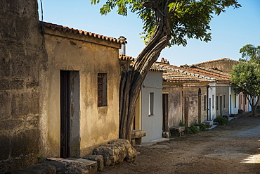 Houses In A Village Of Medieval Origin, San Salvatore Di Sinis, Sardinia, Italy