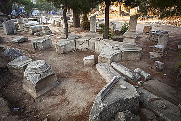 Stone Ruins At A Biblical Site, Thyatira, Turkey