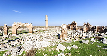 Ruins Of The Grand Mosque Of Harran, Harran, Turkey