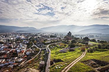 Selcuk Castle And Cityscape, Ephesus, Turkey