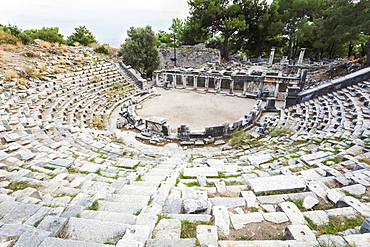 Ruins Of An Amphitheatre, Priene, Turkey