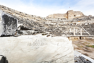Ruins Of An Amphitheatre, Miletus, Turkey
