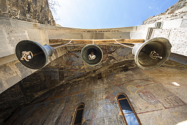 Bells Of The Church Of The Dormition In The Vardzia Cave Monastery, Meskhetii, Georgia