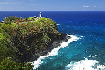 Kilauea Lighthouse, Kilauea Point National Wildlife Refuge, Kauai, Hawaii, United States Of America