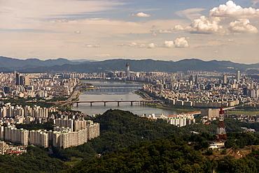 Cityscape Of Seoul, Seoul, South Korea