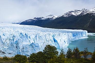 Perito Moreno Glacier In Los Glaciares National Park, Argentine Patagonia, El Calafate, Santa Cruz Province, Argentina