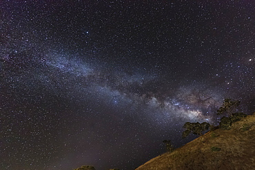 Milky Way As Seen From Saddle Road, Hawaii, United States Of America
