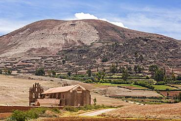 St. Francis Church, Near Maras In Sacred Valley, Cusco, Peru