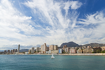Poniente Beach, Benidorm, Alicante, Spain