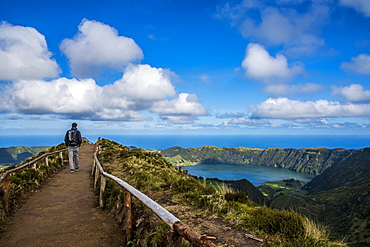 The Spectacular View From Sete Cidades, Sao Miguel, Azores, Portugal