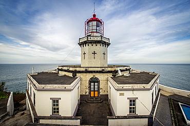 Ponta Do Arnel Lighthouse, Sao Miguel, Azores, Portugal