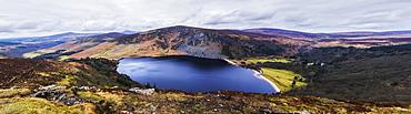 Panoramic View Of Stunning Guinness Lake, Wickow County, Ireland