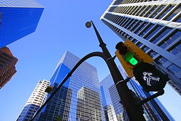 Green Street Light Downtown