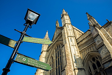 Winchester Cathedral, Winchester, Hampshire, England