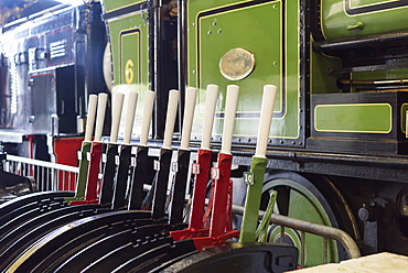 Train And Levers, Tynemouth, Tyne And Wear, England