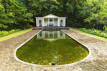 Diana's Room In Allerton Garden, Part Of National Botanical Garden Near Poipu, Kauai, Hawaii, United States Of America