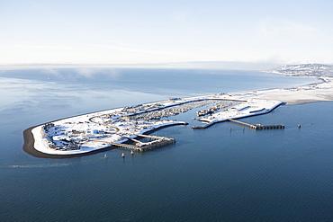 Homer Spit In Winter, Homer, Alaska, United States Of America