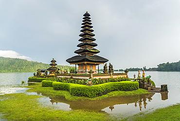 Pura Ulun Danu Buyan In Danau Buyan Lake, Bali Island, Indonesia - 1116-47163