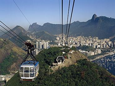Gondola Lift, Rio De Janeiro, Brazil