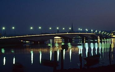 Bridge Over River Slaney; Wexford, County Wexford, Ireland