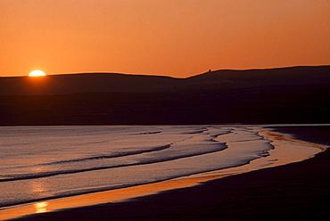 Seashore Sunset; Lahinch, County Clare, Ireland