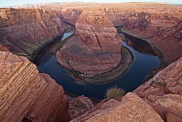 Big Bend Of Colorado River Near Page, Arizona, Usa