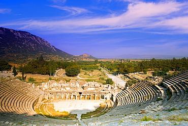 Ancient Theater Of Ephesus In Turkey