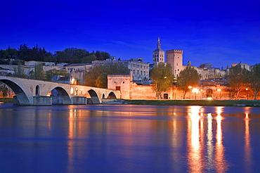 Rhone River, Avignon, France