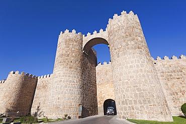 Puerta De San Vicente (Saint Vincent's Gate); Avila, Avila Province, Spain