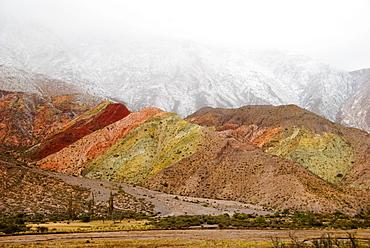 The Colorful Hills Near Purmamarca In Northwest Argentina; Purmamarca, Jujuy, Argentina