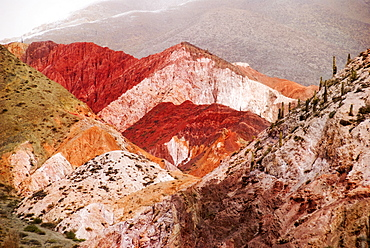 The Colorful Hills Of Purmamarca In Northwest Argentina; Purmamarca, Jujuy, Argentina