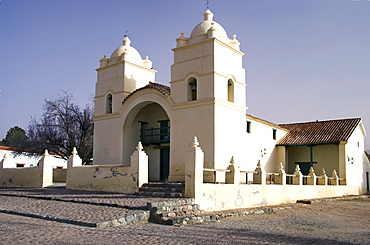 A White Church Building; Molinos, Salta, Argentina
