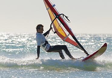 Windsurfing; Los Lances Beach Tarifa Spain