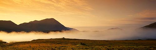 Morning Mist, Connemara, Co Galway, Ireland