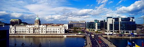 The Customs House & Ifsc, Dublin, Ireland