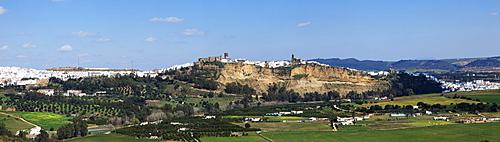 Arcos De La Frontera, Cadiz, Andalusia, Spain; View Of The Old Town