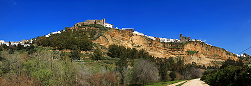 Arcos De La Frontera, Cadiz, Andalusia, Spain; The Old Town On A Hill