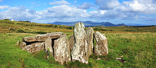 Ancient Dolmen Ruins; Ballinskelligs, County Kerry, Ireland