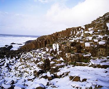 Giant's Causeway, County Antrim, Ireland, Basalt Columns