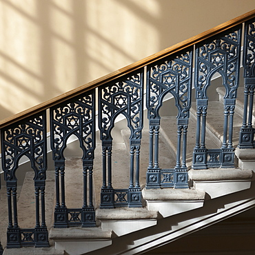 Stairway In Grand Choral Synagogue, St. Petersburg, Russia