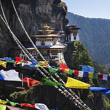 Taktsang Palphug Monastery (Tiger's Nest), Paro, Bhutan