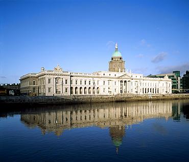 The Custom House; Dublin city, county Dublin, Ireland