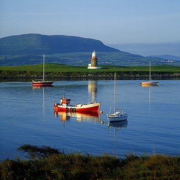 Oyster Island Lighthouse, Oyster Island, County Sligo, Ireland