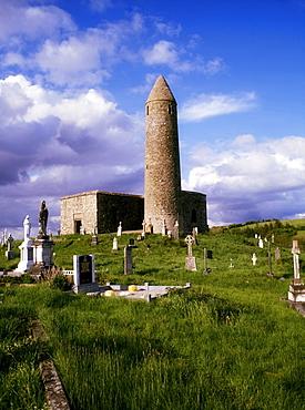 Round Tower At Turlough, Co Mayo, Ireland