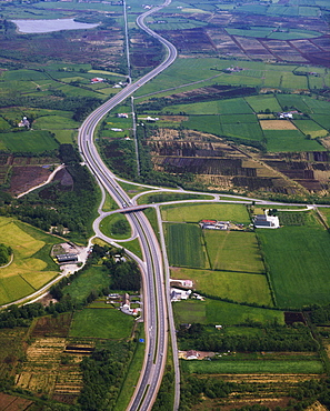 County Armagh, Ireland, M1 Motorway Near Lurgan