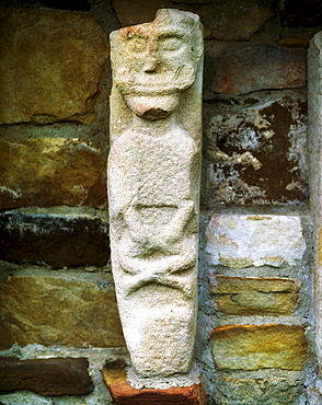Sheela Na Gig, White Island, Lough Erne, County Fermanagh, Ireland
