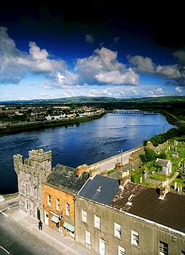 Limerick, River Shannon, County Limerick, Ireland