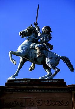 Statue Of William Of Orange, Belfast, Ireland