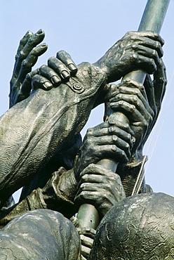 Iwa Jima Memorial, Marine Corps War Memorial, Arlington Cemetery In Usa